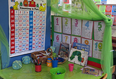 Kindy maths centre