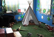Preschoolers Jungle Room